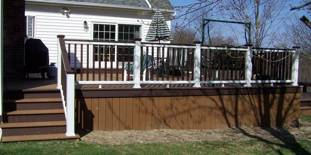 Decking materials composite decking material ratings for Composite decks