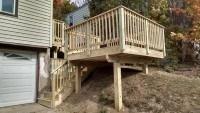 American Deck Builders Pressure Treated Deck